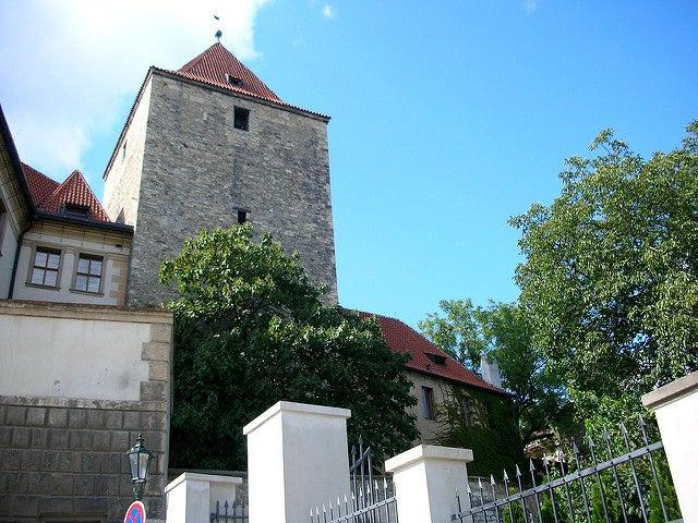 Torre Negra en el castillo de Praga