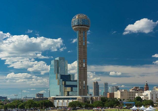 Torre Reunión, una de las cosas que ver en Dallas
