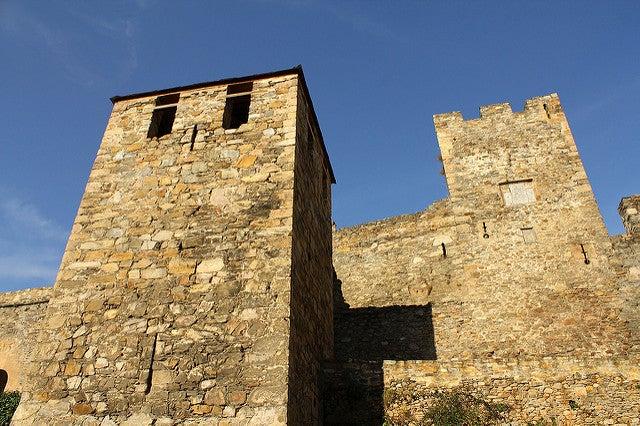 Torres del castillo de Ponferrada