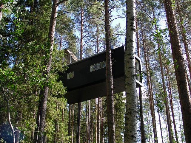 Treehotel en Suecia, uno de los hoteles más curiosos de Europa