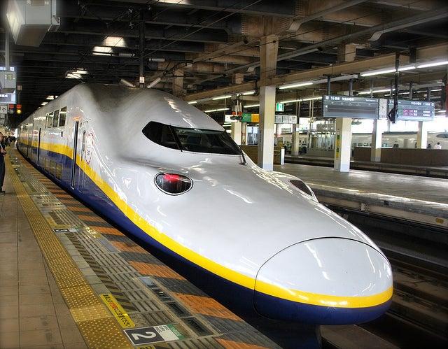 Tren en Japón