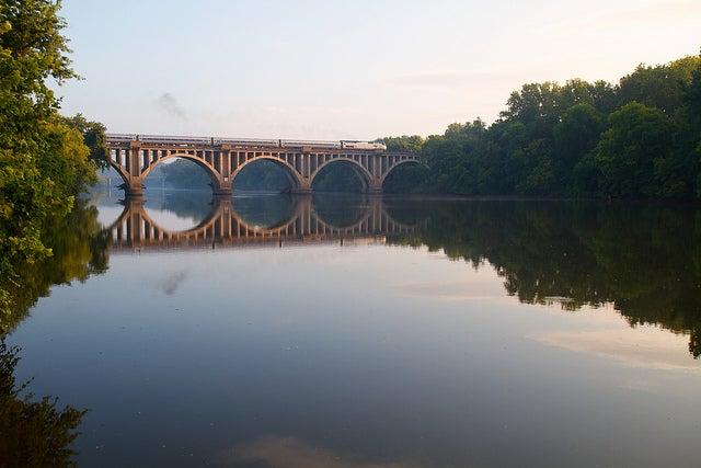 Tren en Virginia, Estados Unidos
