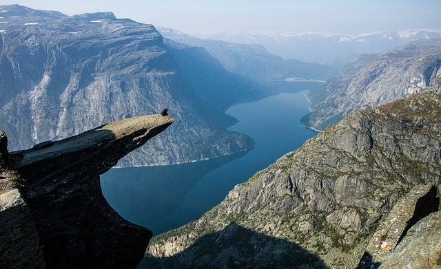 Trolltunga en Noruega