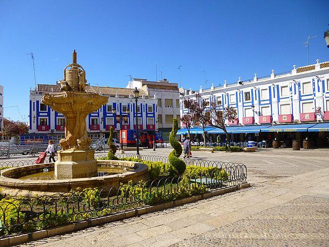 Plaza de España de Valdepeñas