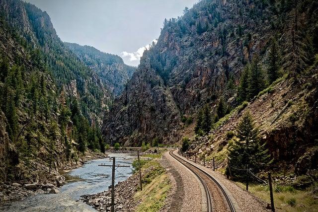 Estados Unidos en tren: vía del California Zephir