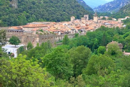 Villefranche-de-Conflent cerca de Perpignan