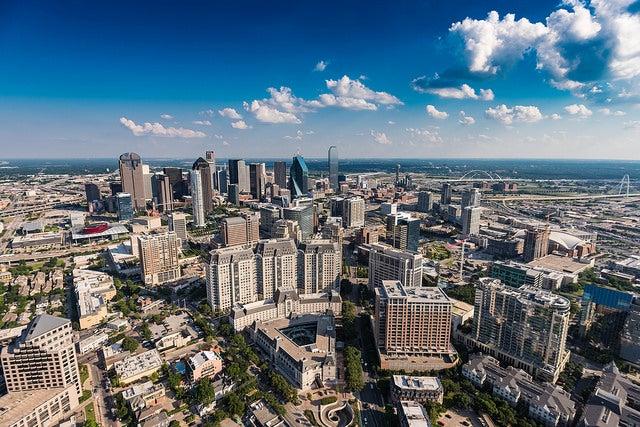 Cosas que ver en Dallas, vista de la ciudad