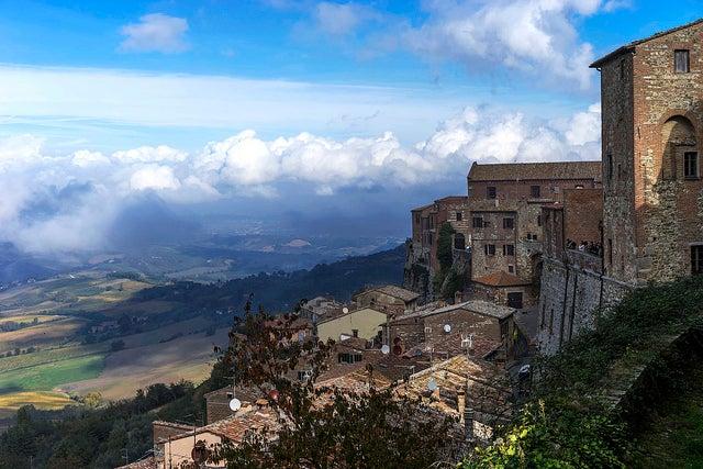 Vista de Montepulciano
