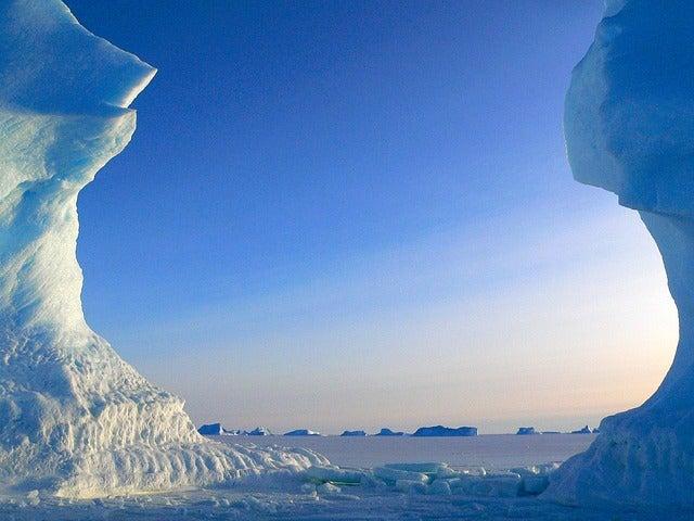 Vista del Polo Norte