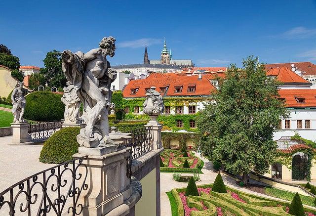 Jardín Vtrbovska en Praga