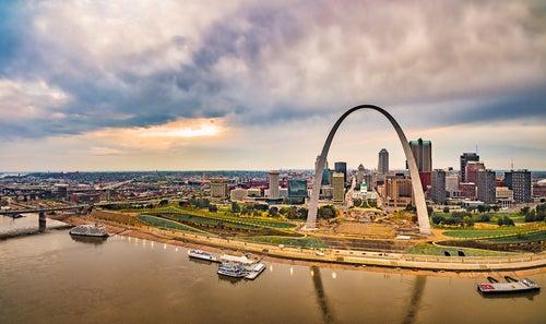 Arco Gateway en Sant Louis