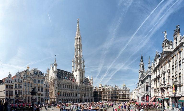 Visitamos el bello Ayuntamiento de Bruselas