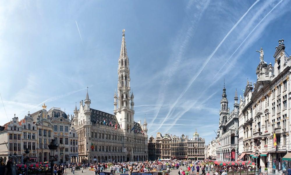 Grand Place, uno de los lugares de interés en Bruselas