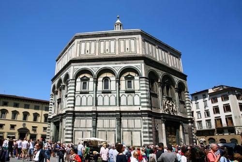 Baptisterio deSanJuan uno de los lugares de interés en Florencia