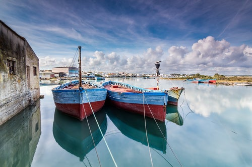 Barcos en Barbate