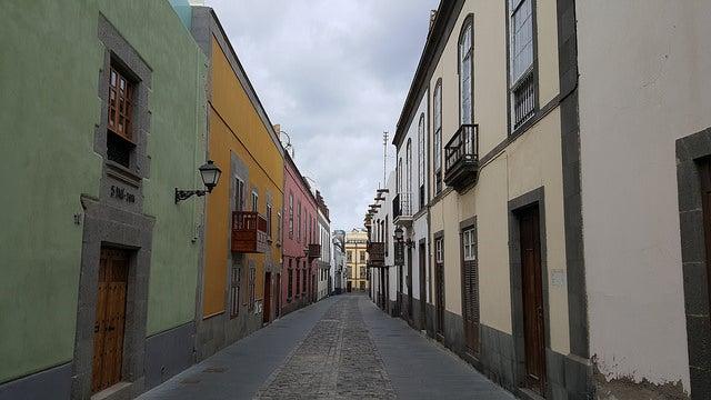 Barrio Vegueta en Las Palmas de Gran Canaria