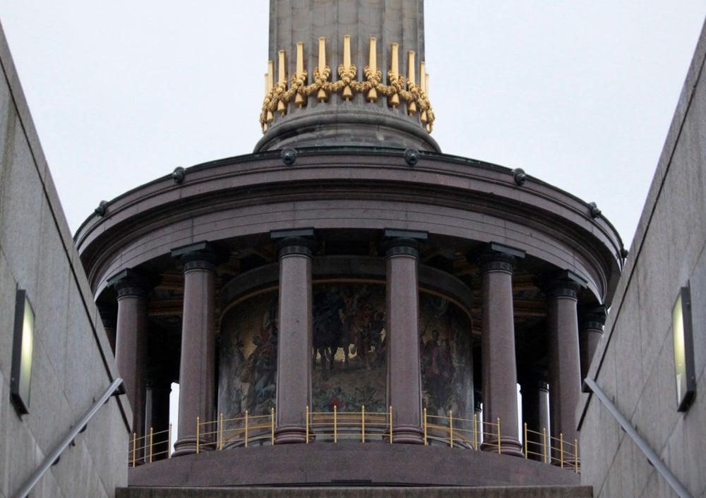Base de la columna de la Victoria de Berlín