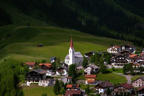 Berwang en Austria