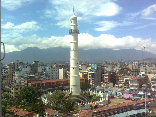 Torre Bhimsen en Nepal
