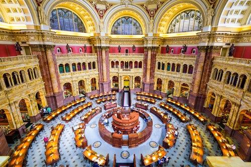 Biblioteca del Congreso en el Capitolio