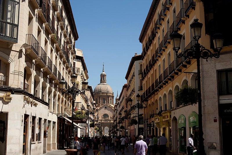 Calle Alfonso I de Zaragoza