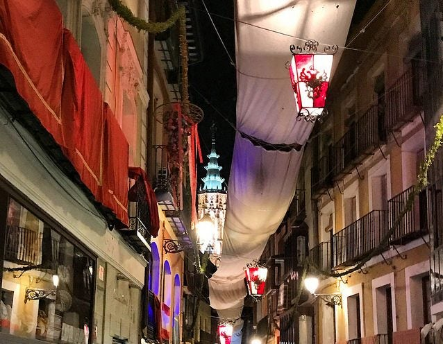 CalleComercio de Toledo, una de las calles españolas más bonitas