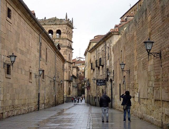 Calle Compañía de Salamanca
