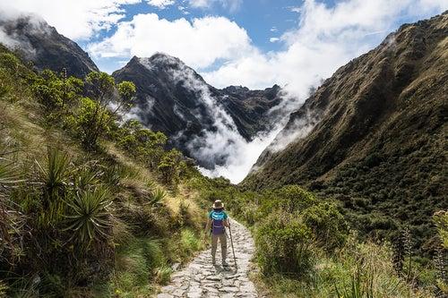 Camino del Inca para llegar a Machu Picchu