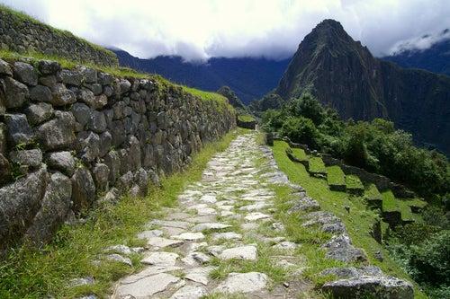 Camino Inca para llegar a Machu Picchu