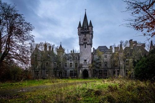 Castillo miranda, uno de los lugares que ver en Bélgica