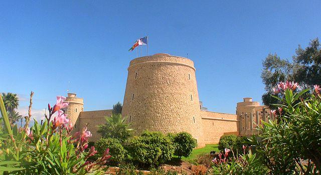Visitamos el castillo de Santa Ana en Roquetas de Mar