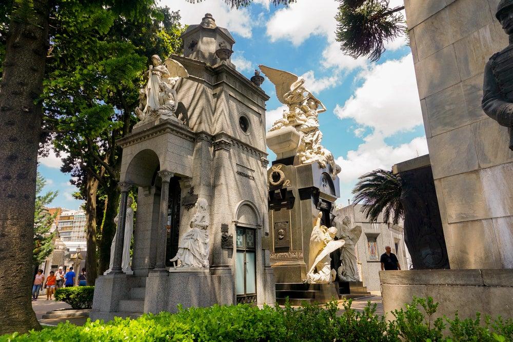 Cementerios increíbles, La Recoleta