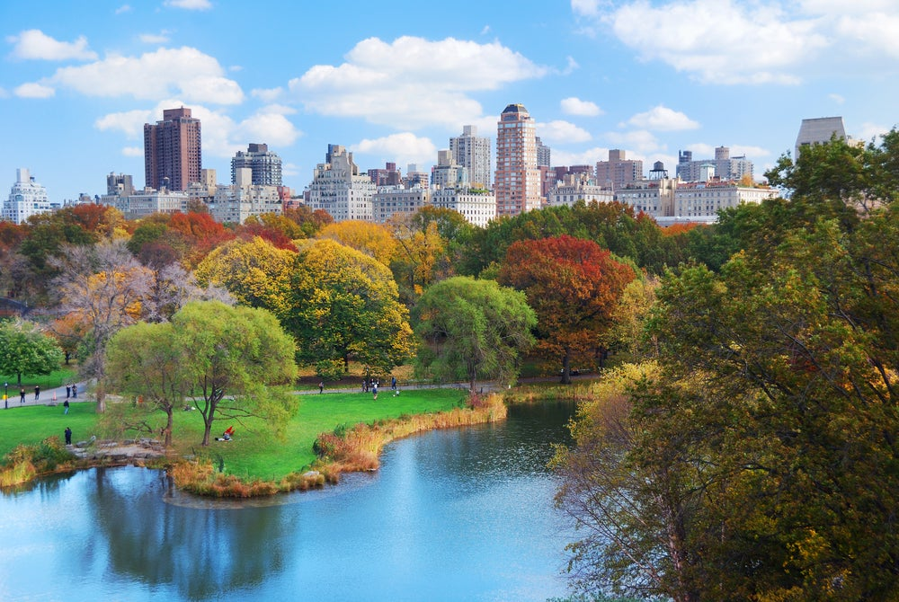 Damos un paseo por los parques de Nueva York