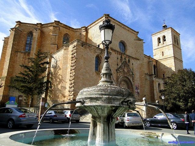 Excolegiata de Santa María en Berlanga de Duero
