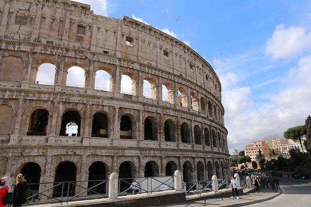 Llegar al Coliseo de Roma andando