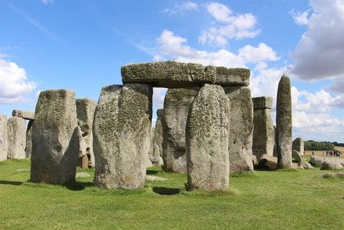Llegar a Stonehenge, imagen del monumento