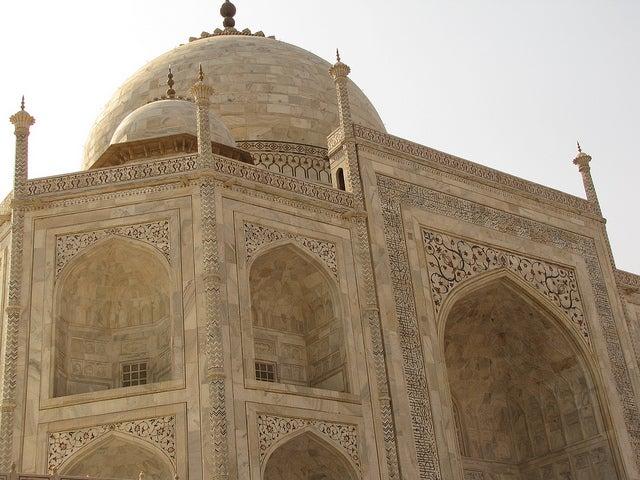 Detalles del Taj Mahal