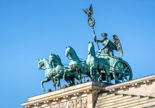 Cuadriga Puerta de Brandenburgo
