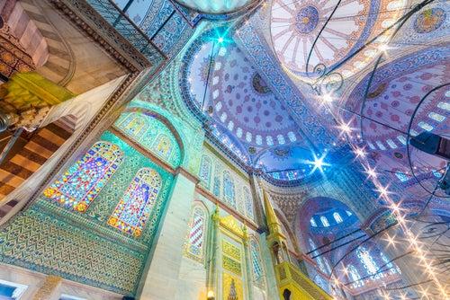Cúpulas de la Mezquita Azul