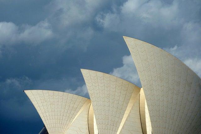 Detalle de la Ópera de Sidney