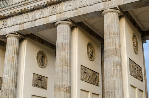 Detalle de la Puerta de Brandenburgo