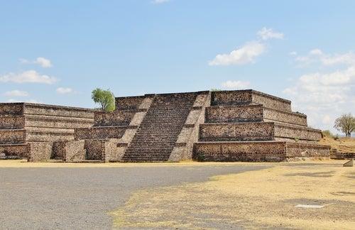 Edificio en Teotihuacán