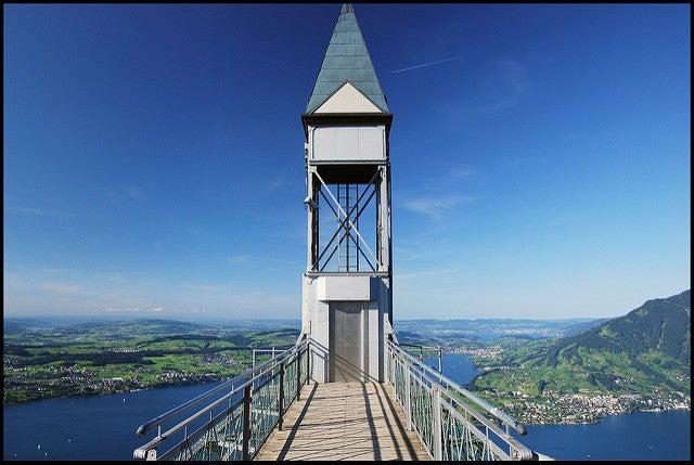 Elevador Hammetschwand en Lucerna