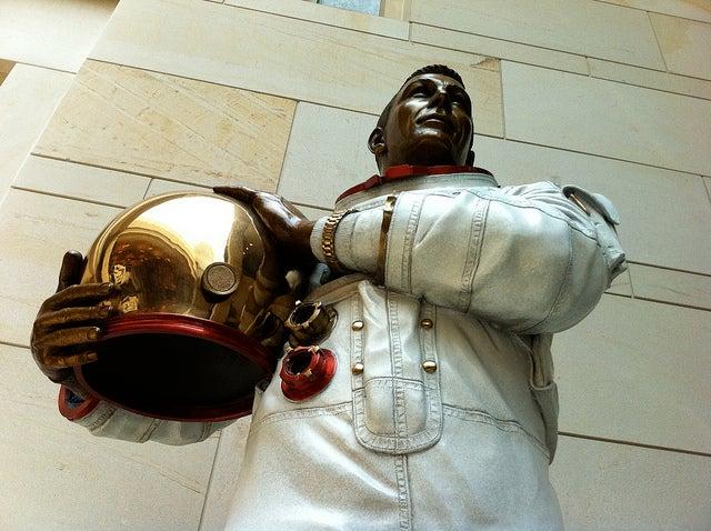 Estatua en Emantipation Hall del Capitolio