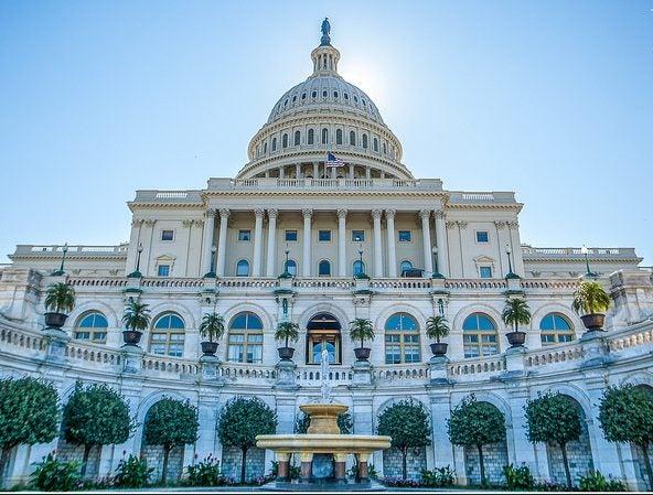 Entrada al Capitolio de Washington