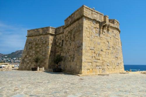 Entrada al castillo de Moraira