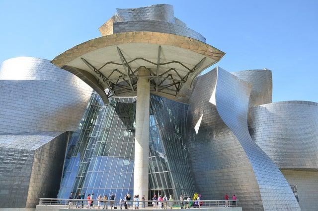 Entrada al Guggenheim
