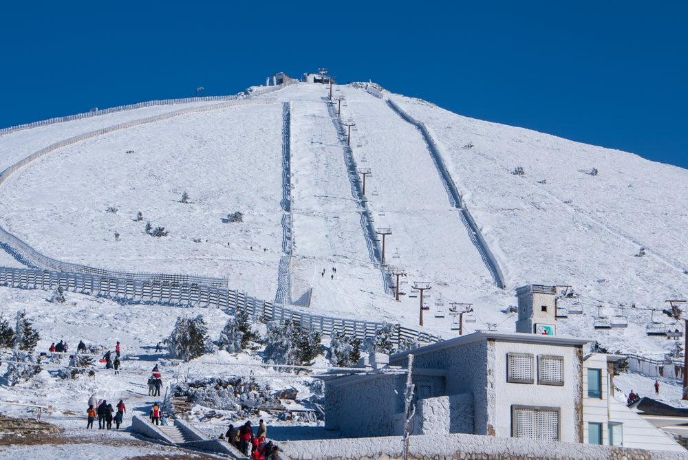 La estación de esquí de Navacerrada, a un paso de Madrid