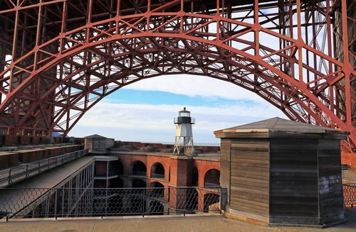 Fort Point cerca del Golden Gate