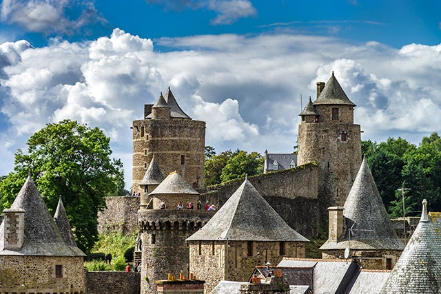 Fougéres, uno de lospueblos de Bretaña más bonitos